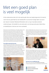 Rabobank - Advertorial